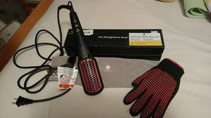 Micro pure hair straightener brush for Sale in Independence, MO