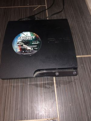 Brand new ps3 with call of duty black ops , it's comes with all the cords & hdmi cable , works perfect & in good condition hmu need gone call me at 9 for Sale in Tamarac, FL
