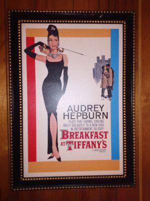 Framed Audrey Hepburn picture for Sale in La Vergne, TN