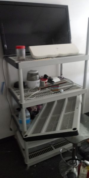 Shelf and or t.v. it works but has a line going thru it. You can hardly see it for Sale in Las Vegas, NV
