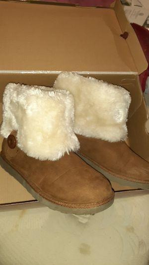 Arizona Jean co. Winter boots with fur for Sale in San Antonio, TX