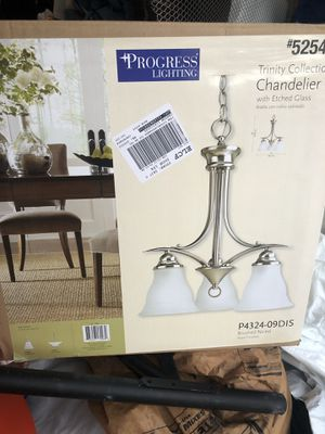 Brand new light fixture for Sale in Clermont, FL