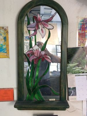 stained glass mirror for Sale in San Francisco, CA