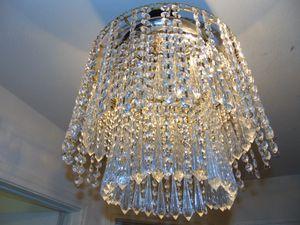2 ft crystal chandelier for Sale in Las Vegas, NV