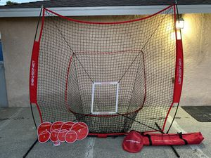 PowerNet Pitch Perfect Targets, Practice Net and Strike Zone Attachment Bundle | Baseball Softball Pitching Trainer | 3 Size Target Set | Increase Pi for Sale in Monterey Park, CA