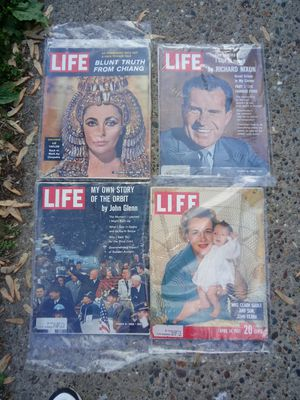 Life magazine early 1960s for Sale in Hannibal, MO