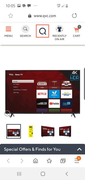 58 inch roku smart TV for Sale in Pounding Mill, VA