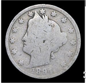 1894 Liberty Nickel 5c Grades g+ for Sale in Boca Raton, FL