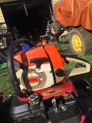 Perfect stihl chain saw for Sale in Bridgeville, PA