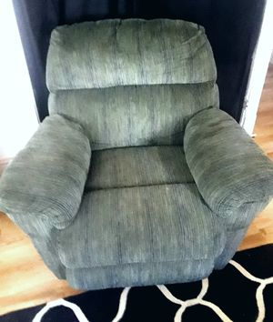 Blue Recliner/Rocking Chair for Sale in St. Louis, MO
