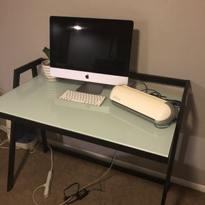 Glass And Metal Desk for Sale in Vernon, CA