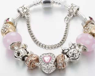 New Mickey mouse charm bracelet for Sale in Tampa,  FL