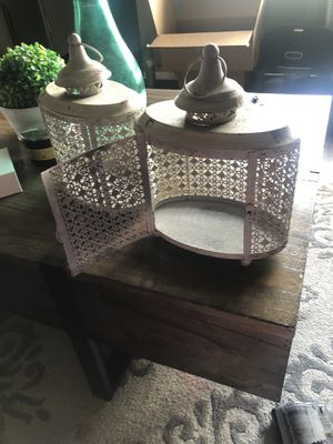 Rustic candle holder. for Sale in Anaheim, CA