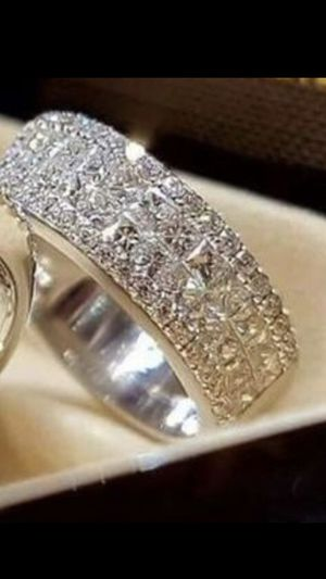 Wedding/Engagement/Promise Ring .925 Silver for Sale in Graham, NC