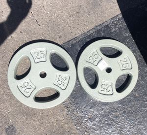 New 25 lbs plates for Sale in Selma, CA