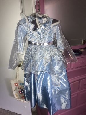 Cinderella Costumer 10-12 for kids for Sale in Murfreesboro, TN