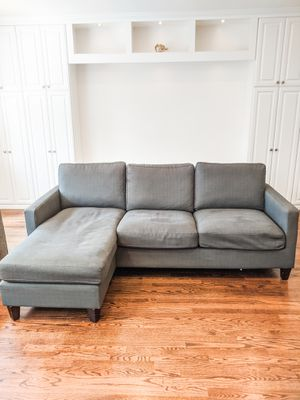 WORLD MARKET ABBOTT SECTIONAL SOFA/COUCH for Sale in Falls Church, VA