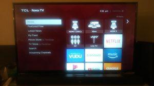TCL 4K Roku TV and Soundbar for Sale in Redmond, WA