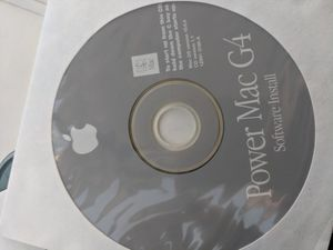 Mac g4 recovery and install cd for Sale in West Valley City, UT