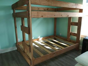 Full over full bunk beds for Sale in Houston, TX