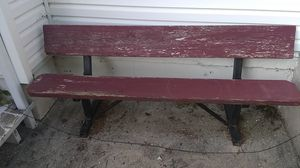 Park bench for Sale in Elkins, WV