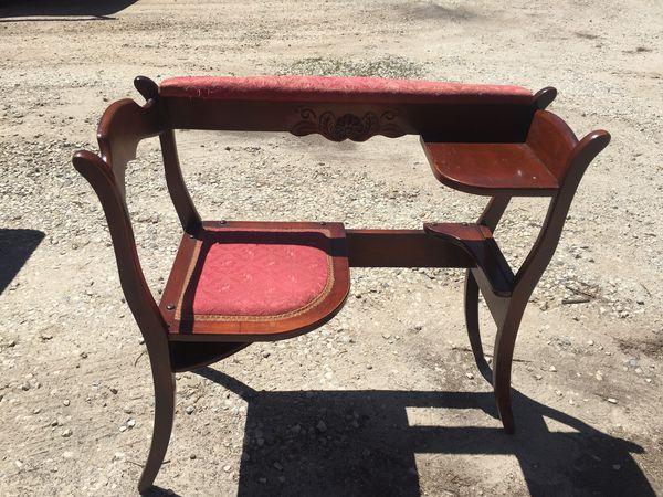 Telephone table antique