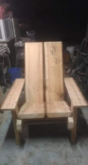Live edge Douglas fir lawn chair for Sale in Eugene, OR