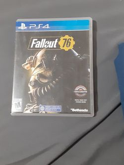 Ps4 Game Fallout 76 for Sale in Riverdale,  CA