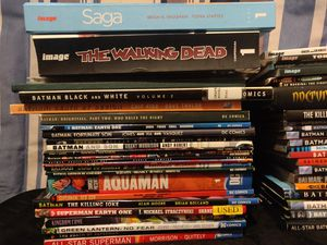 Comic book lot (Hardcovers & Trade Paperpacks for Sale in Rio Vista, CA