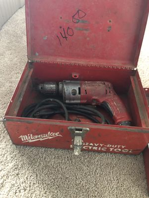Drill Machine with drill bits and tools for Sale in Cortland, NY