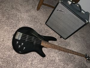 Bass Guitar and Bass Amp for Sale in Pomona, CA