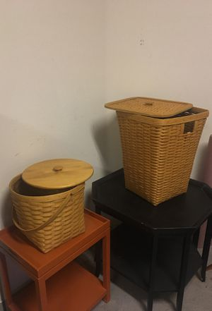 Longaberger Classic Baskets for Sale in Las Vegas, NV