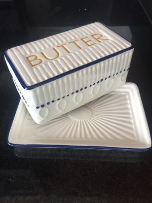 Butter dish ceramic for Sale in Washington, DC