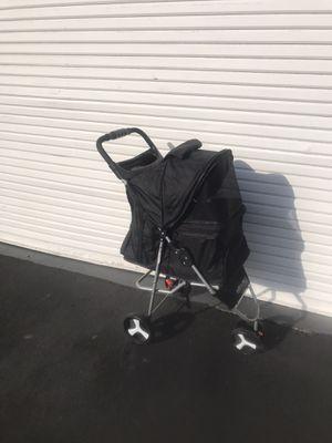 Paws & pals folding Dog & Cat stroller Black for Sale in Irvine, CA