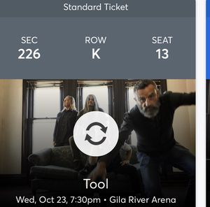 Tool ticket for Sale in Mesa, AZ