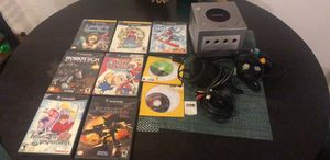 Nintendo GameCube with games and all hookups! for Sale in San Angelo, TX