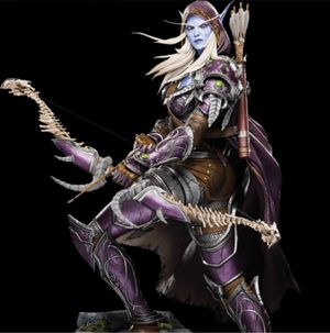 Blizzard Sylvanas Windrunner Polystone Statue Collectible not Sideshow for Sale in Austin, TX