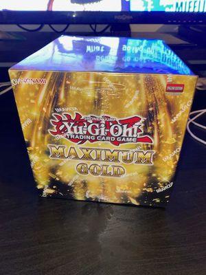 YuGiOh Maximum Gold Display Box for Sale in Dallas, TX