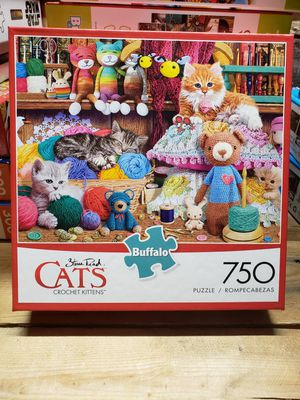 "Buffalo games Steve Read ""cats"" 750pc puzzle NEW for Sale in Indianapolis, IN"
