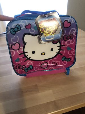 Hello kitty lunch bag for Sale in Austin, TX