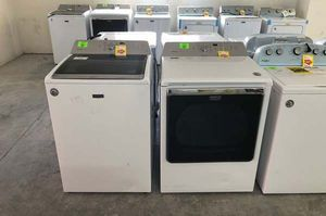 Maytag washer dryer set 0 for Sale in Canutillo, TX