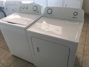 CREDIT CARDS WELCOME! Amana Washer and Electric Dryer. for Sale in El Paso, TX