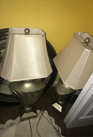Two Lamps for Sale in Port St. Lucie, FL