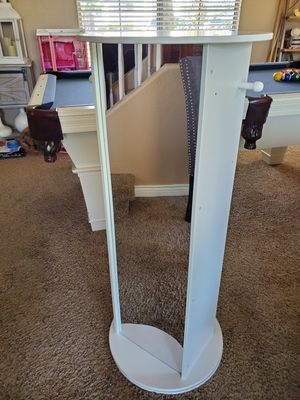 Spinning mirror with shelves for Sale in Gilbert, AZ