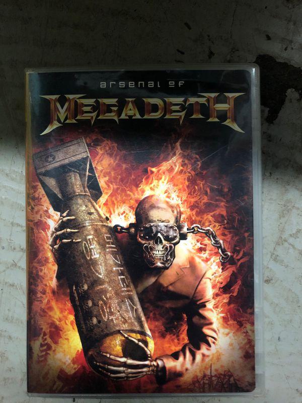 4 megadeth DVD's