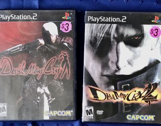 PS2 Devil May Cry Games for Sale in San Diego,  CA