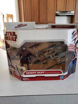 New Star Wars Desert Skiff with Anakin figure. for Sale in Orlando, FL