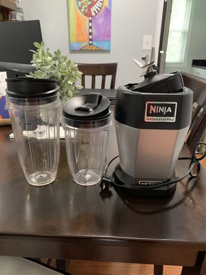 Ninja Professional BL450 900 Watts Complete Set for Sale in Arlington, VA