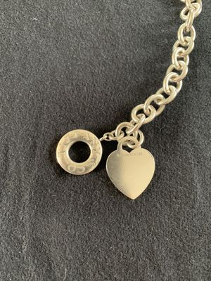 Tiffany & Co. Heart tag toggle necklace for Sale in San Diego, CA