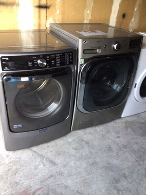LG washer and Maytag gas dryer for Sale in San Leandro, CA